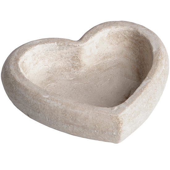 Picture of Deep Stone Heart Dish