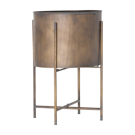 Picture of Large Bronze Planter On Frame