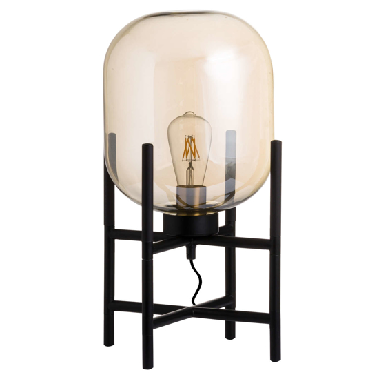 Picture of Vintage Industrial Glass Glow Lamp