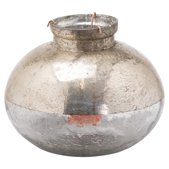 Picture of Large Silverlust Bulbus Candle Holder