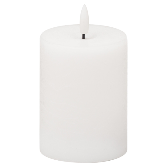 Picture of Luxe Collection Natural Glow 3x4 LED White Candle