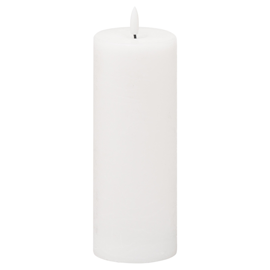 Picture of Luxe Collection Natural Glow 3x8 LED White Candle