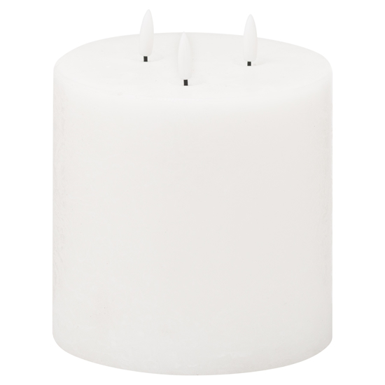 Picture of Luxe Collection Natural Glow 6x6 LED White Candle