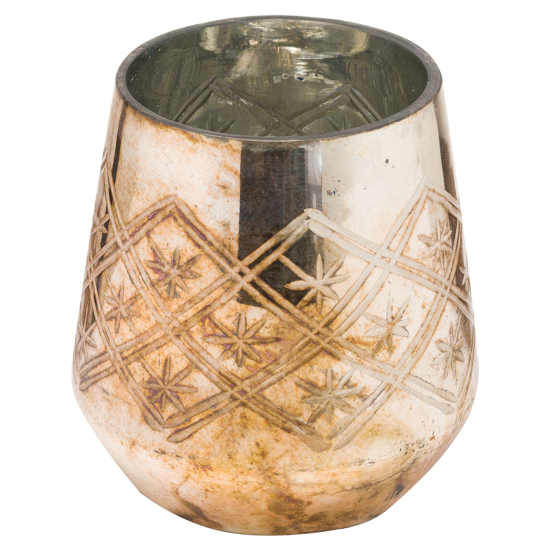 Picture of The Noel Collection Burnished  Tealight Holder