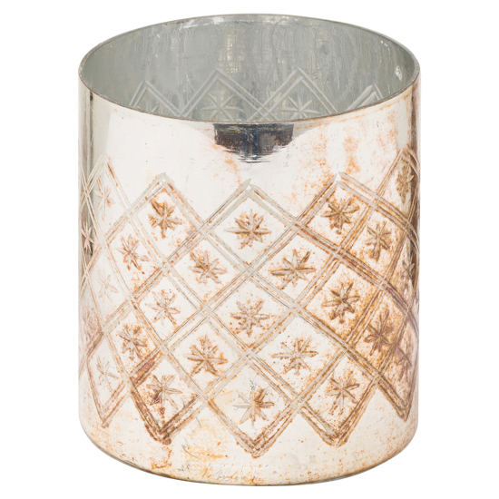 Picture of The Noel Collection Burnished  Pillar Candle Holder