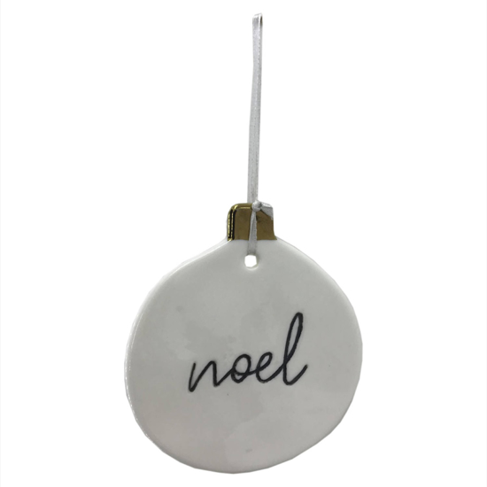 Picture of 4 Pack - Noel Hanging Tree Decoration