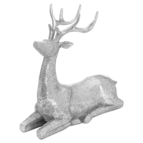 Picture of Decortive Wood Effect Sitting Deer
