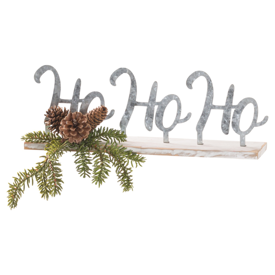 Picture of The Noel Collection Ho Ho Ho Table Sitting Sign