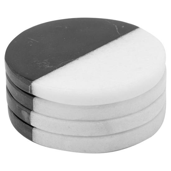 Picture of Set Of 4 Marble Coasters